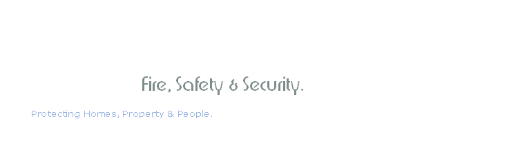 Fire, Safety & Security.